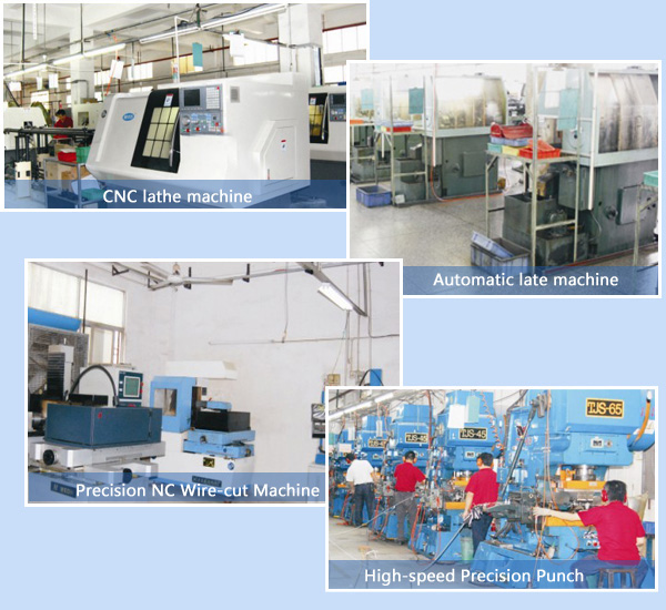 main production equipments