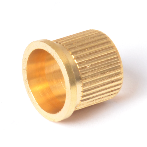 Outer Knurled Brass Bushing