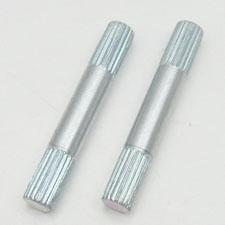 knurled dowel pins