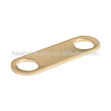 brass double hole cable terminal