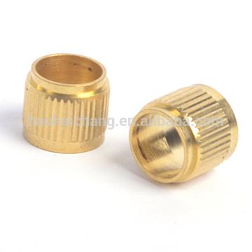 Brass bushing with thread