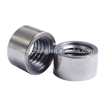 CNC Hex nut with internal thread