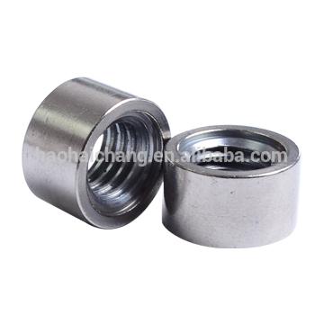 CNC Hex nut with internal thread