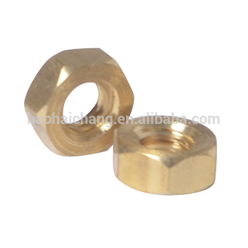 High precision customized CNC hex nut