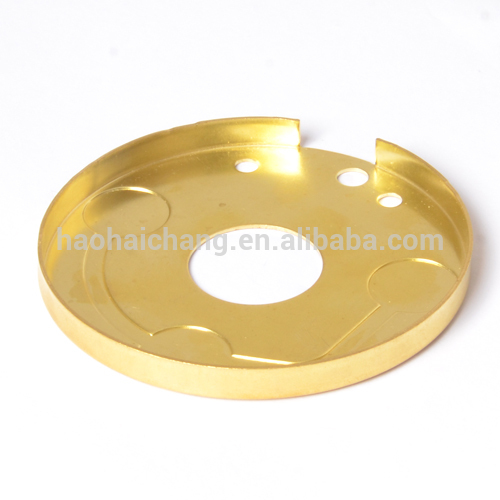 Brass heating flange