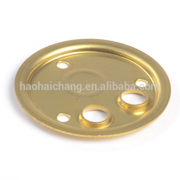 Electric heating flange