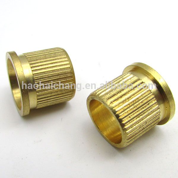 Brass Bushing with Outer Thread