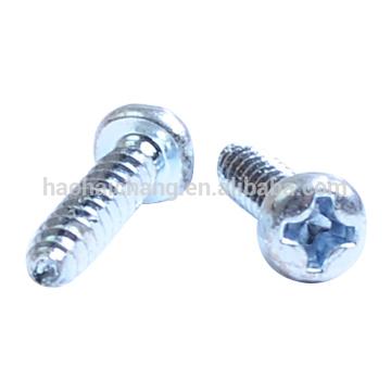 zinc plated precision screw